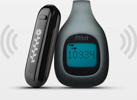 The Fitbit One and Zip
