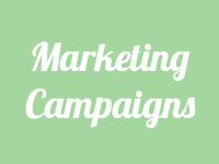 marketing campaigns button