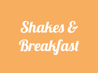shakes and breakfast button