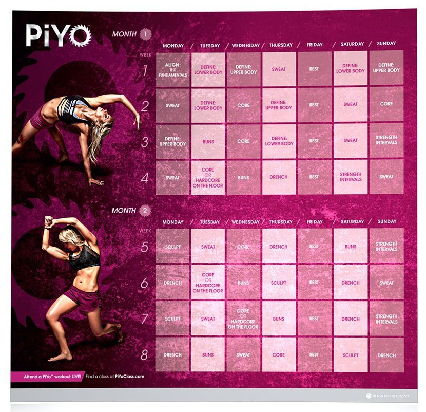 Halfway There A Review Of PiYo Jackie Vetrano